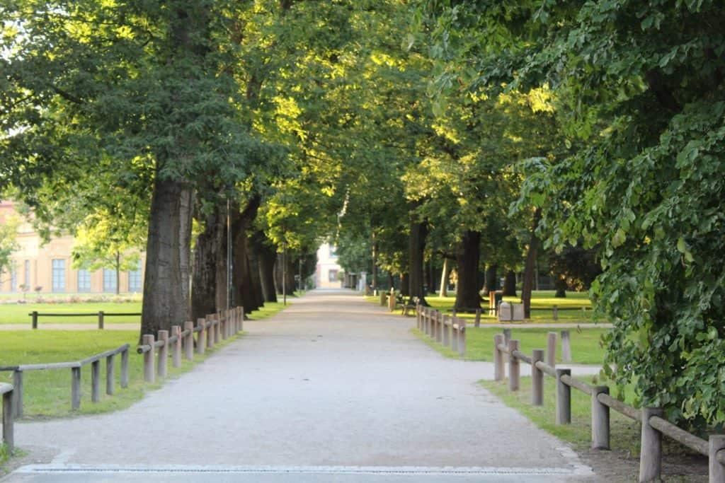 Der Schlossgarten Erlangen