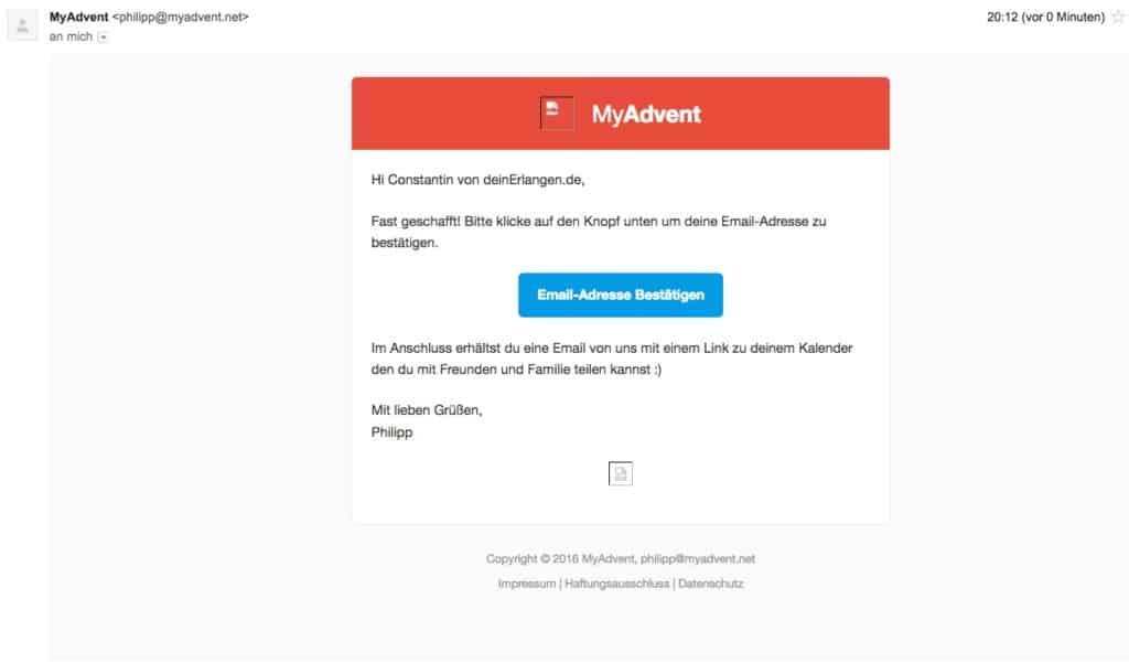 myadvent.net - Schritt 6