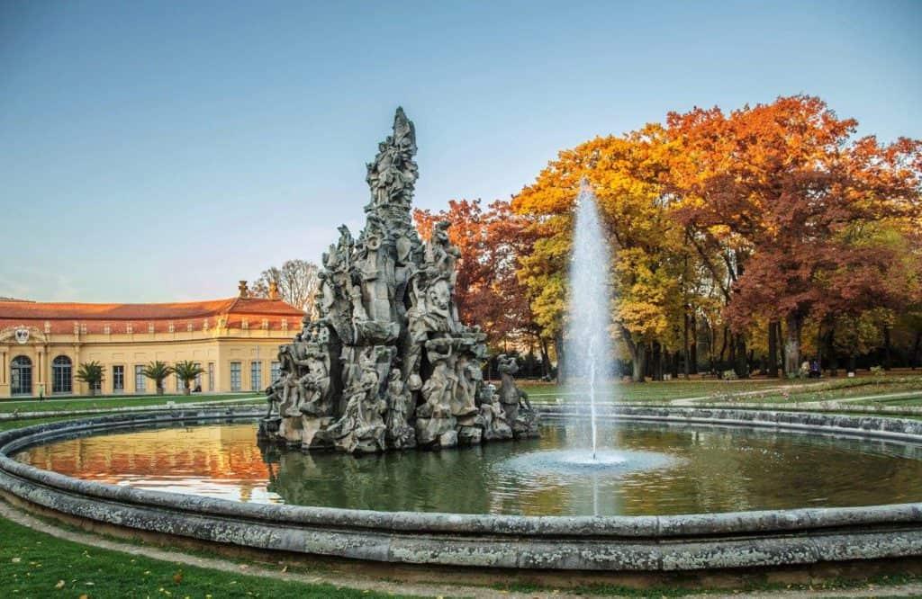 Brunnen im Schlossgarten Erlangen