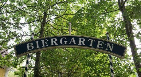 Biergarten in Erlangen