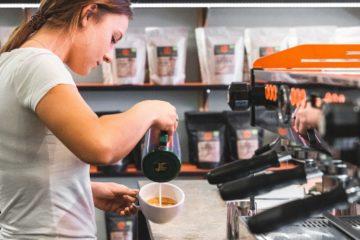 Bild von Rösttrommel Kaffeerösterei Erlangen