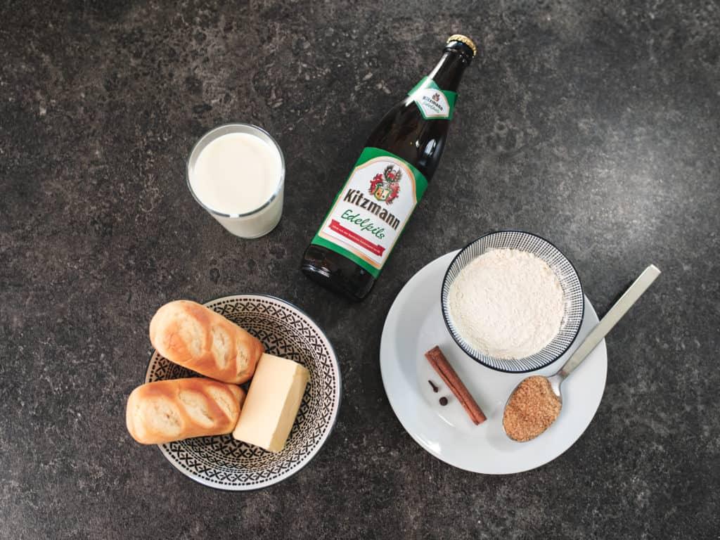 Zutaten Biersuppe Rezept