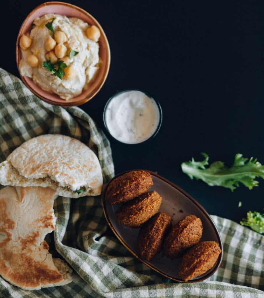 Falafel-arabisches-essen