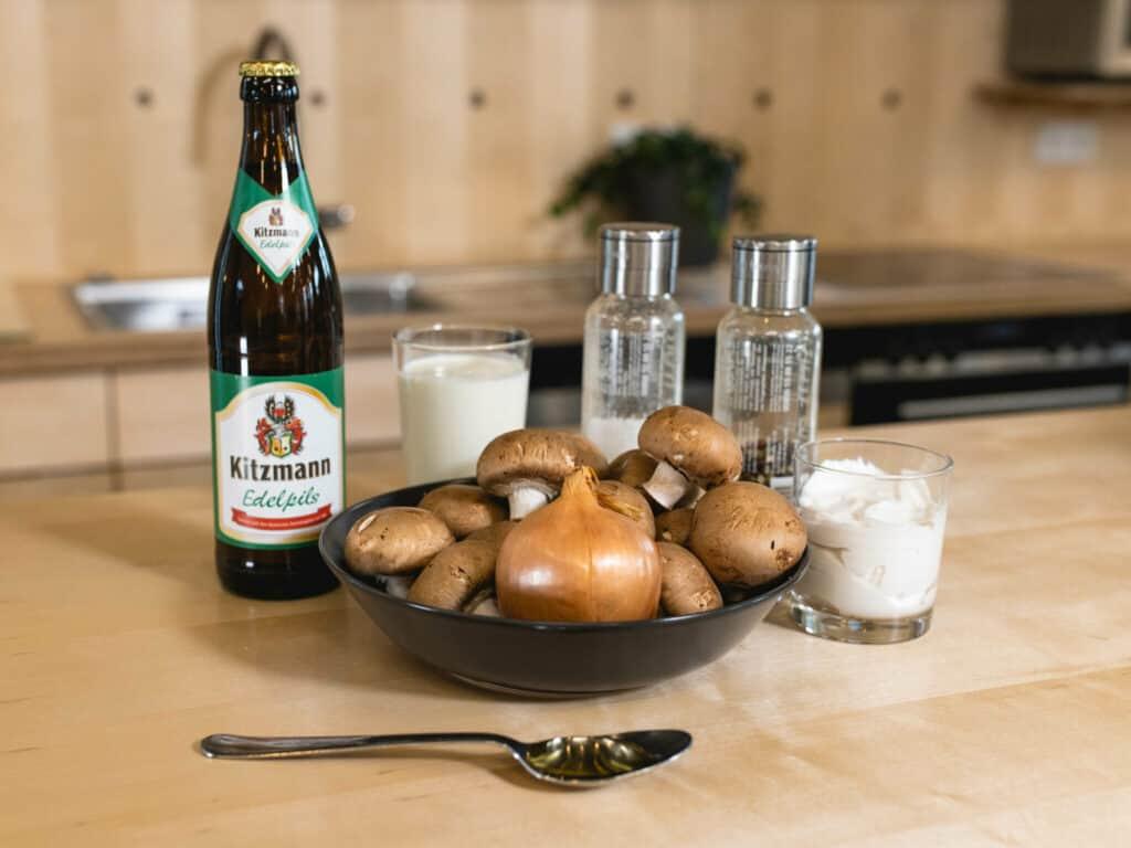 Zutaten Mittagessen Kitzmann
